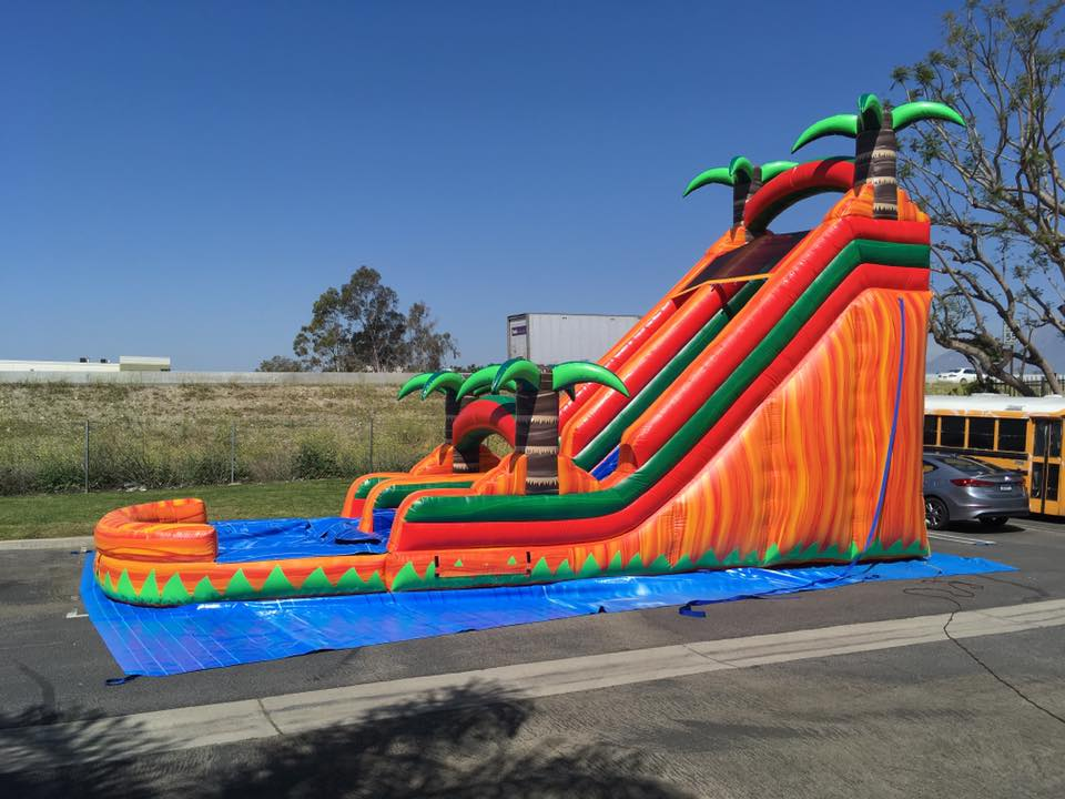 water slide for rent in fontana and rancho cucamonga